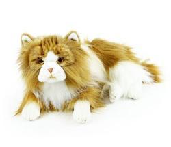 Kočka perská ležící plyš 25cm