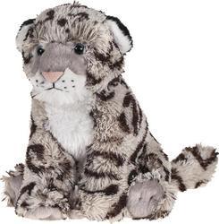 Sněžný leopard sedící 20cm, měkkoučký(6)