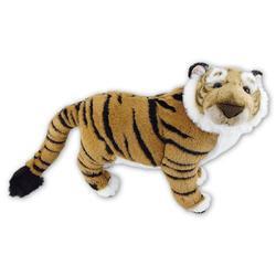 Tygr hnědý plyš 63cm