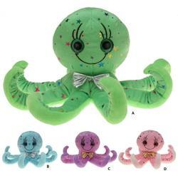 Chobotnice dětská plyš 40cm, 4druhy (4)