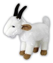 Koza plyš stojící 25cm
