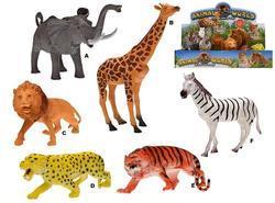 Zvířátka safari 20-24cm, 6dr (6)
