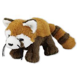 Panda červená plyš 35cm