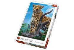 Puzzle Divoký Leopard 500dílků 34x48cm v krabici (8)
