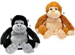 Opice sedící plyš 65cm, 2dr