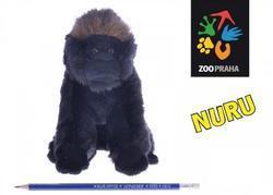 Gorila NURU sedící plyš, 17cm(72ks)