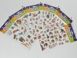 Samolepka 20x10cm (safari,auta,psi,kočky) (24)