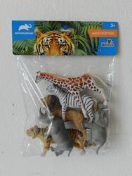 Zvířátka safari 6ks 13,5cm (24ks/bal)