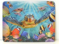 Magnet 3D 7x9cm - mořská želva (25)