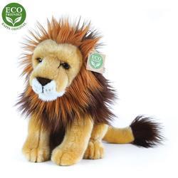 Lev sedící plyš 25cm