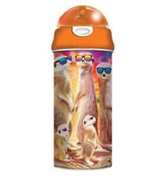 Láhev na pití 3D - surikaty, 500ml (6)