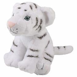 Tygr bílý plyš ECO, velký 28cm