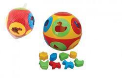 Vkládačka míč plast průměr 17cm 12m+