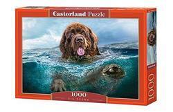 Puzzle Pes ve vodě 1000dílků