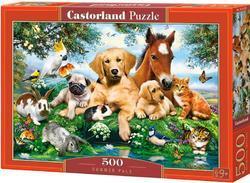 Puzzle domácí zvířátka 500dílků