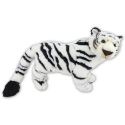 Tygr bílý plyš 63cm