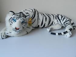 Tygr bílý ležící 90cm (9ks/bal)