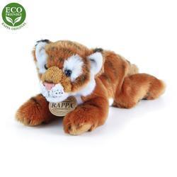 Tygr hnědý ležící plyš 17cm