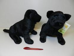 Panter černý sedící, plyš 28cm (52ks/karton)