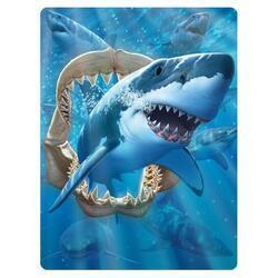 Pohlednice 3D 16cm - žralok (25)