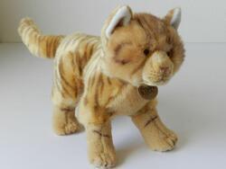 Kočka plyš 28cm stojící,(600607) - 1
