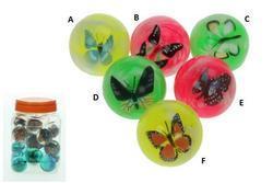Hopík motýl 4,5cm, 6druhů (30)