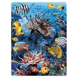 Pohlednice 3D 16cm - tropické ryby (25)