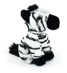 Zebra sedící plyš 18cm