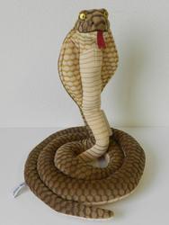 Kobra plyš 33cm