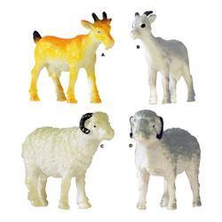 Ovce/koza 7cm plast, 4dr