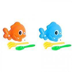 sada na písek ryba 3 ks, 2 druhy
