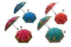 Deštník 66cm vystřelovací s píšťalkou mix barev