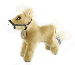 Kůň plyš stojící 23 cm