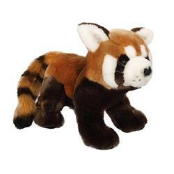 Panda červená plyš 25cm