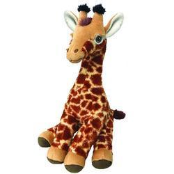 Žirafa plyš ECO, střední 25cm