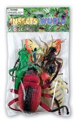 Hmyz set 11-18cm 5ks, v sáčku(12)