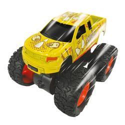 Monster truck dino 9cm, 4druhy, na setrvačník (16)
