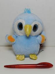 Papoušek velké oči plyš 16cm