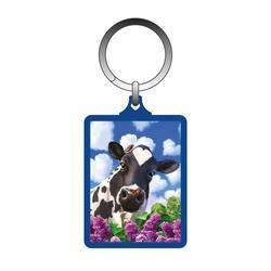 Klíčenka 3D 5x6cm - kráva (10)