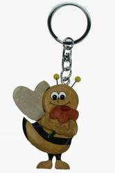 Přívěšek dřevo - včela (6)