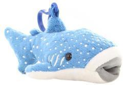 Klíčenka žralok velrybí plyš 15x8x6cm (12)