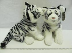 Tygr bílý plyš 30cm - 1