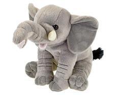 Slon plyšový 26cm sedící 0m+ v sáčku
