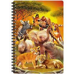 Notes 3D 14x21cm - safari