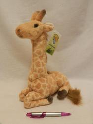 Žirafa sedící 30cm