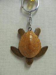 Přívěšek dřevo - vodní želva (6)