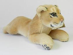 Lev plazící, plyš 35cm (60/karton)