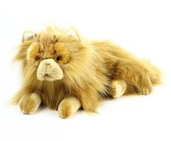 Kočka perská ležící plyš 30cm