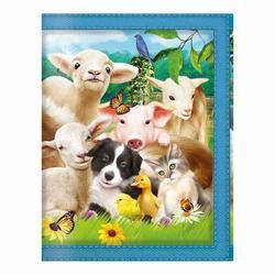 Peněženka 3D - zvířátka farma (5)
