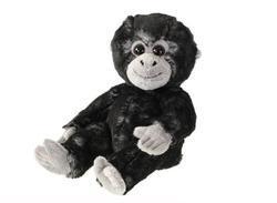 Gorila sedící plyš 18cm